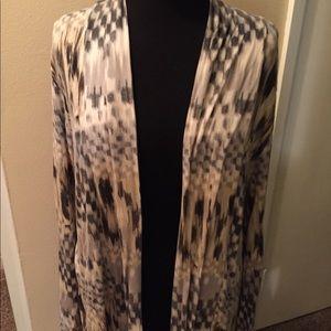 Super soft cover up dressy jacket.